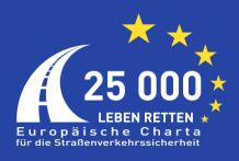 Logo der European Road 	Safety Charter